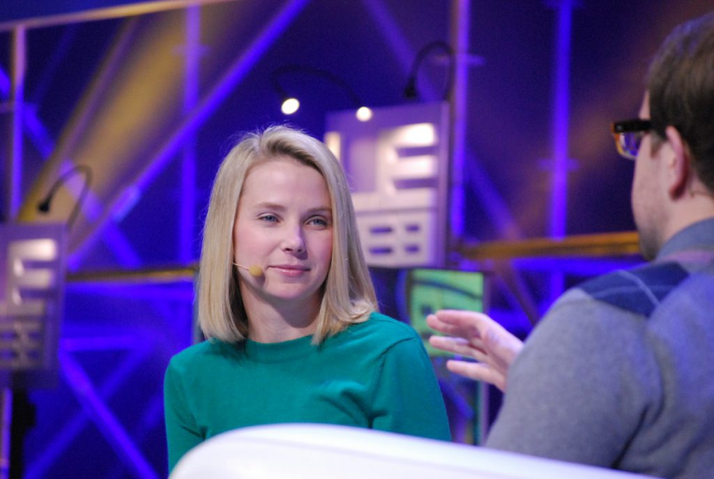 Marissa Mayer, Chief Executive of Yahoo Inc. Pic: Wikimedia Commons