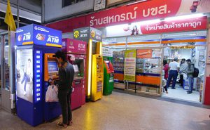 A Thai woman withdrawing money from the ATM. Pic: Asian Development Bank / Flickr