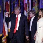 donald trump melania united states president