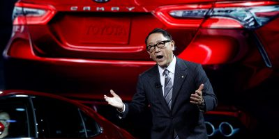 Akio Toyoda, president of Toyota Motor Corporation