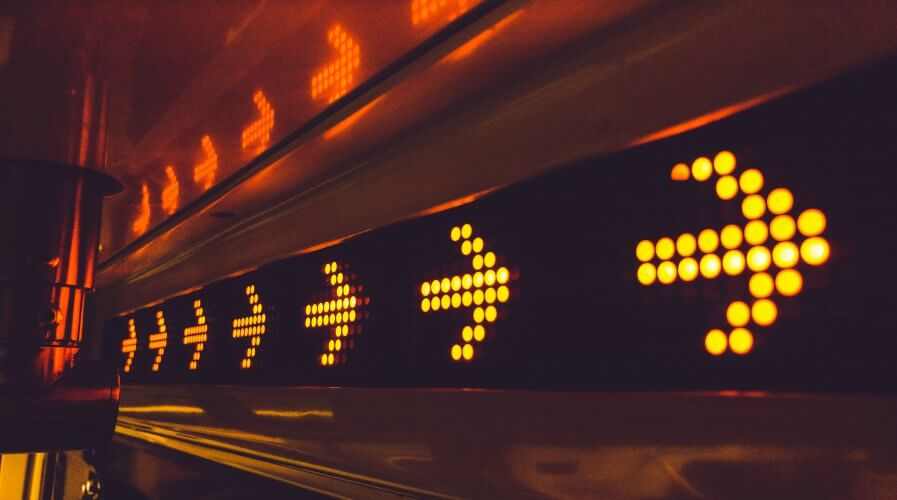 arrows city signage