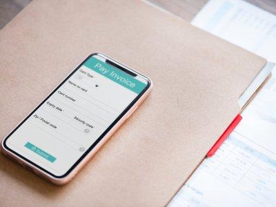 digital payments screen